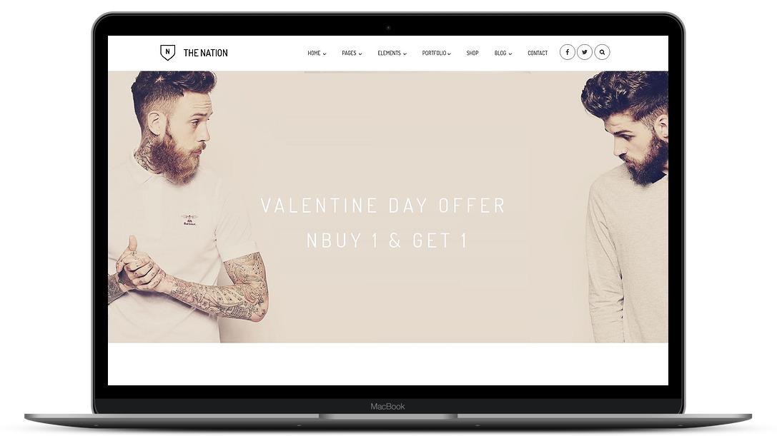 nation ecommerce template