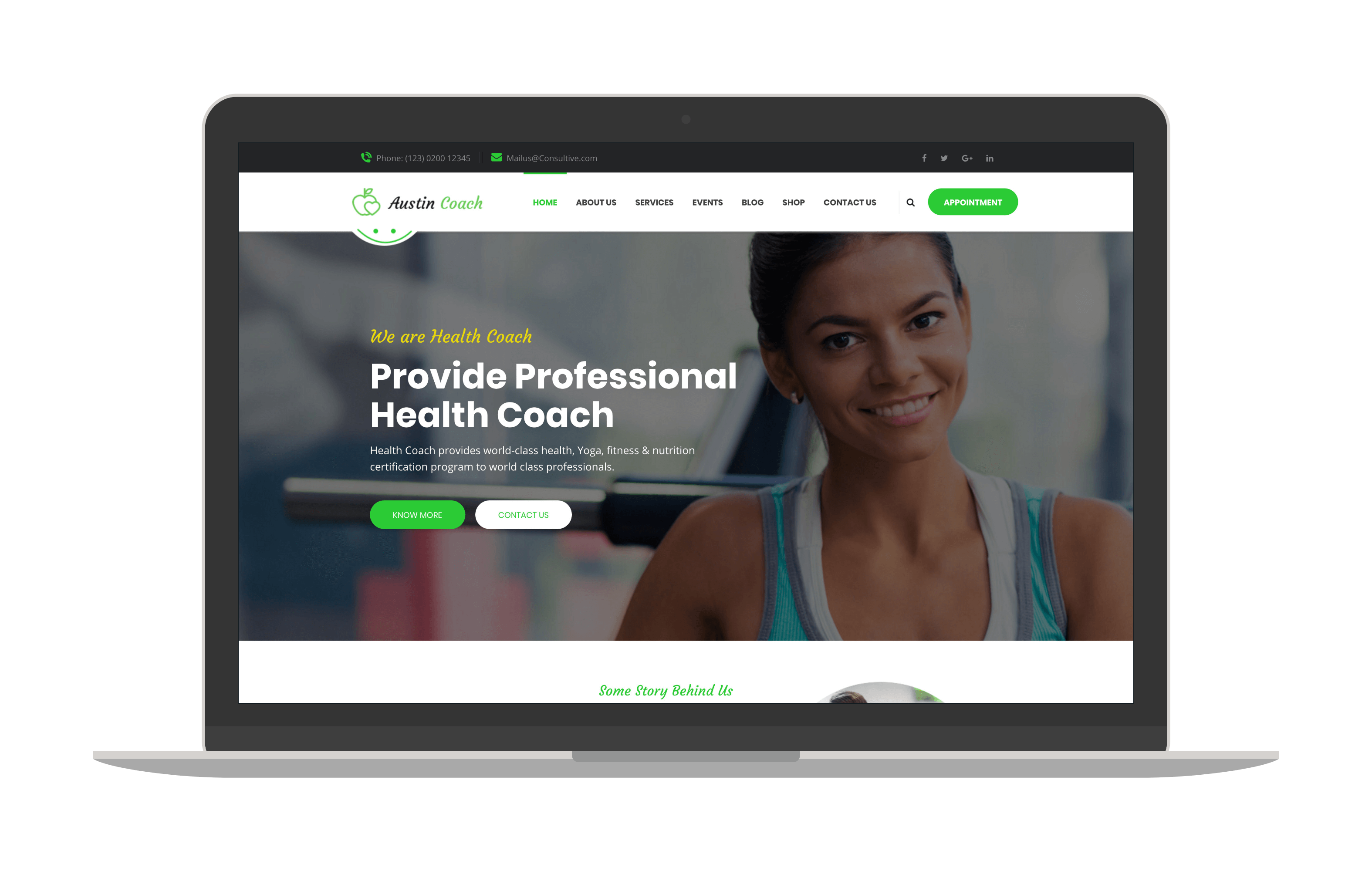 austincoach joomla template