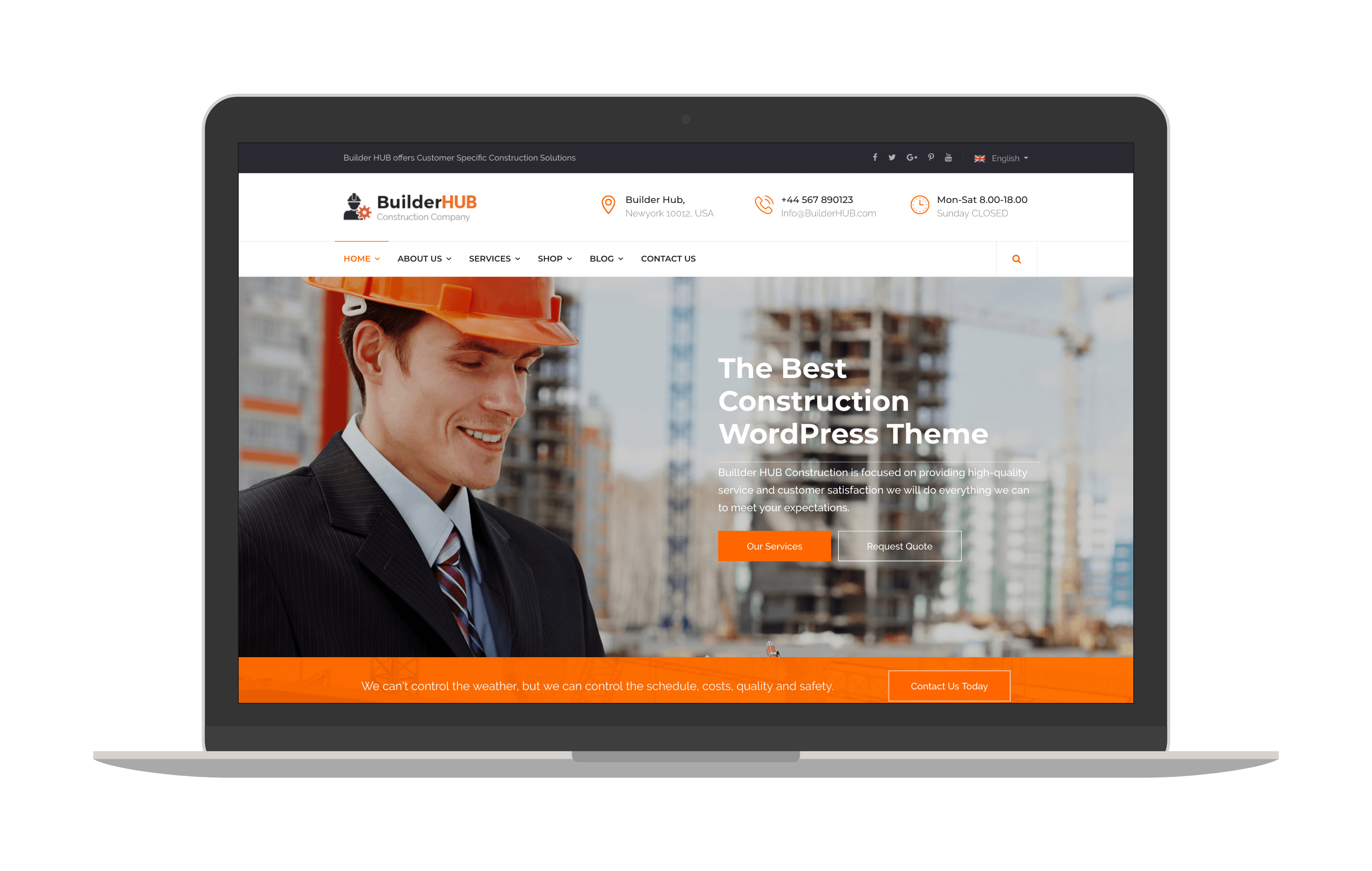 builderhub joomla template