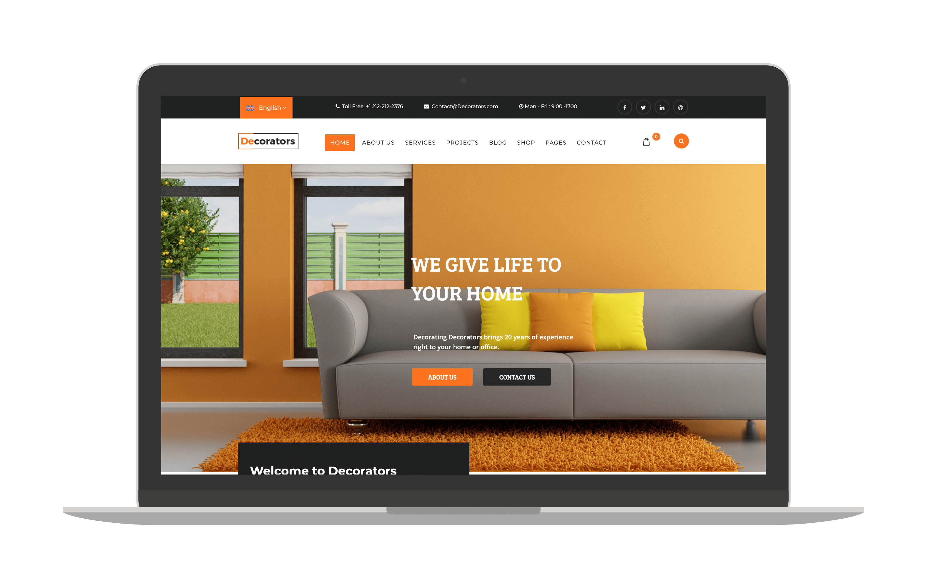 decorator joomla template