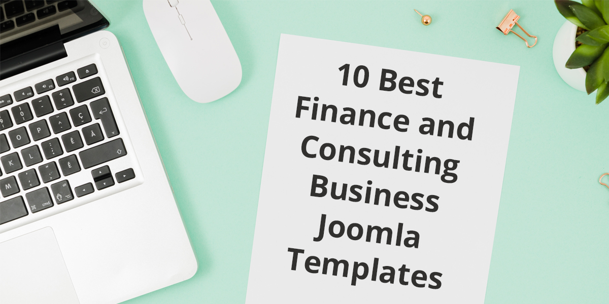 10 Best Finance and Consulting Joomla Templates