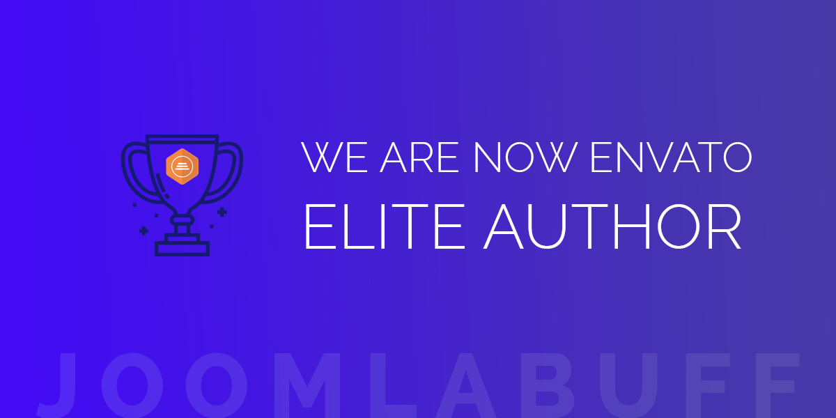 Joomlabuff Became Elite Author on Envato