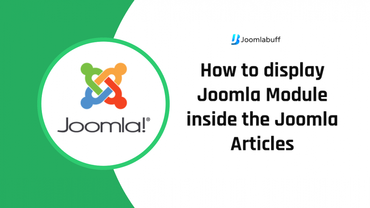 How to Insert a Module Inside a Joomla Article