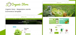 Introducing Organic Store - A Brand New Joomla E-commerce Template for Organic food products