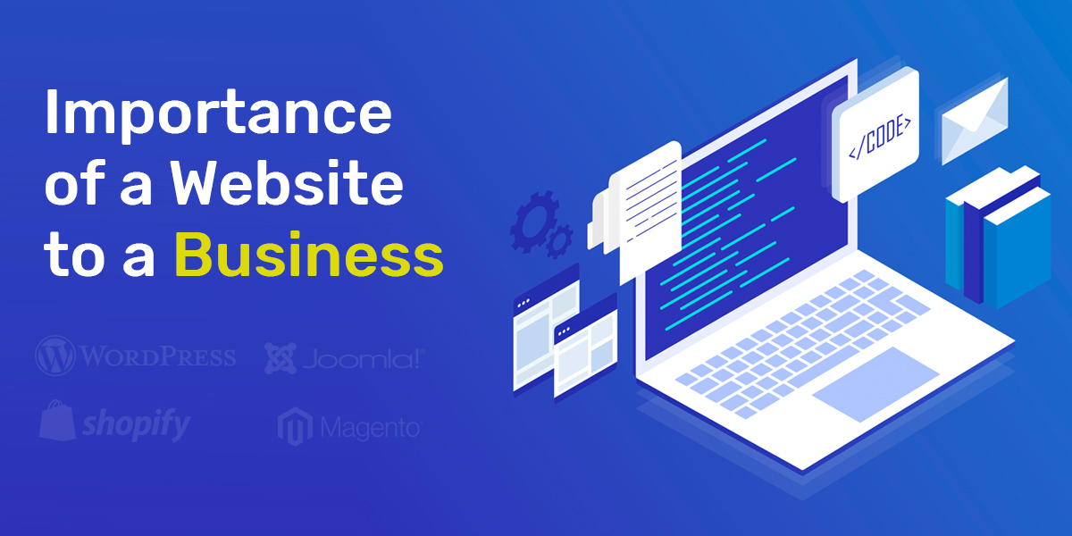 Importance of a Website to a Business