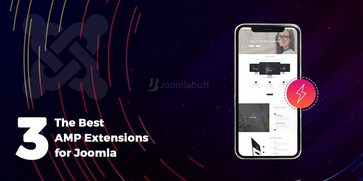 The Best 3 AMP Extensions for Joomla